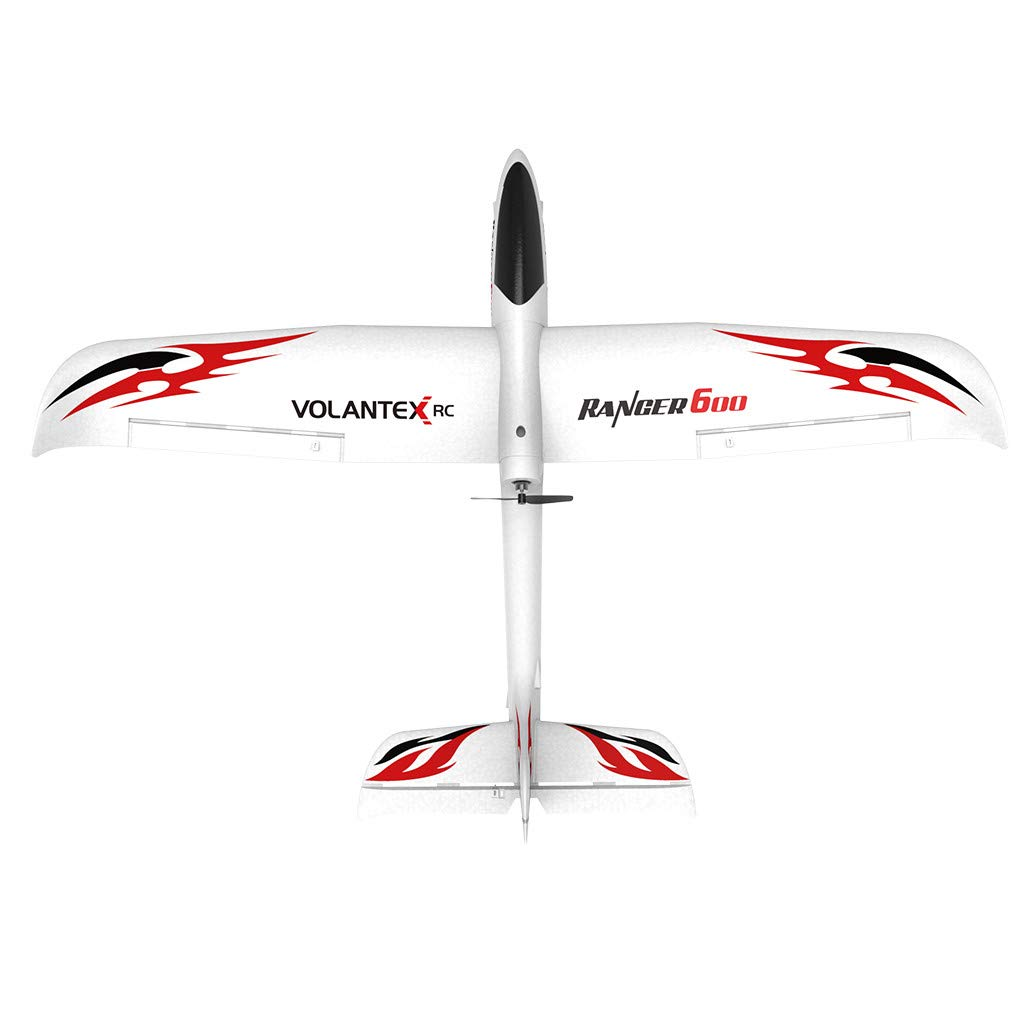 WWFFOO RC Airplane With 2.4GHz 6-Axis Gyro 761-2 RTF Plane For Beginners Remote Control Ready Easy to Fly Outdoor Toys Sports Good for Adluts Safe Select for Small Flight Club Party (White)