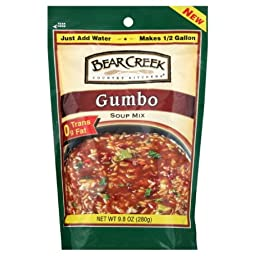 Bear Creek Country Kitchens Soup Mix, Gumbo, 9.8 Ounce (Pack of 3)