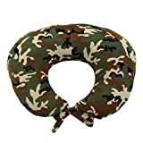 My Blankee Nursing Pillow with Camouflage Minky Slipcover, Green, Small/Medium