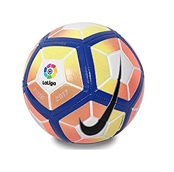 5b0dbdf86054 Nike Strike La Liga Football 2017 - Spain - Size 5 - White Blue   Amazon.co.uk  Sports   Outdoors