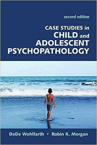 Amazon com: Case Studies in Child and Adolescent