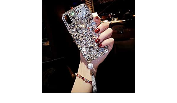 Amazon.com: Cases for Samsung S8 Plus S9 Plus Diamond ...