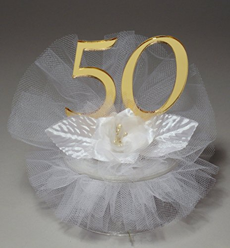 50th Wedding Cake Toppers - 5