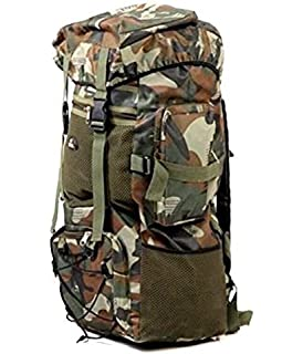2bcdc6e6ab EENIGAR 75 Ltr Military Green Rucksack  Amazon.in  Bags