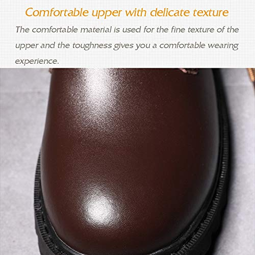 Ideale Martin Leg Winter Leather Boots Black Long La Dressage Up Caccia Lace Per rFrx8n