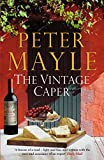 Front cover for the book The Vintage Caper by Peter Mayle