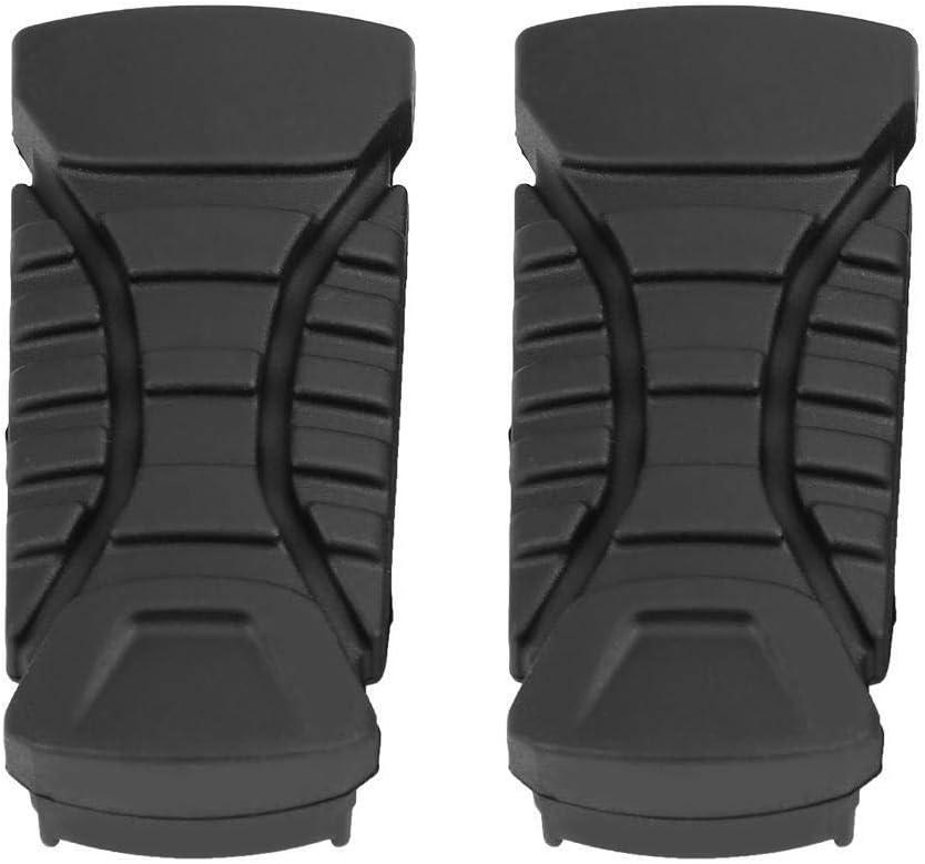 Dingln Moto Pedane Posteriore Piastra Pedana in Gomma Pad Copertura Compatibile con B-M-W R1200GS R1200GS ADV 2014-2017
