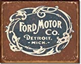 Ford Historic Logo Metal Tin Sign 16