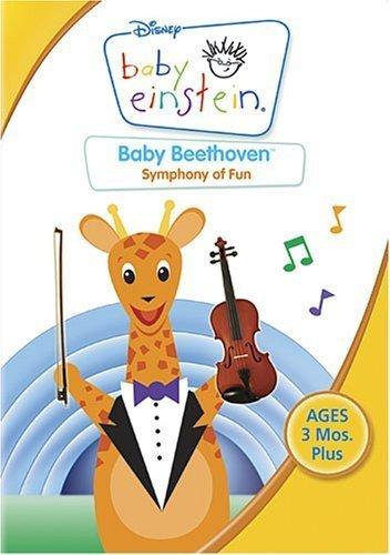 4 Safari Giraffe - Baby Einstein - Baby Beethoven - Symphony of Fun