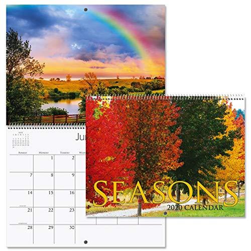 2020 Seasons Wall Calendar- 12