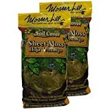 Mosser Lee Green Sheet Moss 325 Sq. In. (2 PACK)