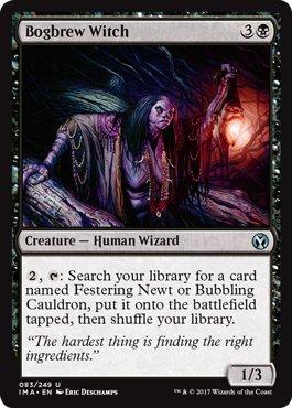 Bog Witch - Bogbrew Witch - Iconic Masters