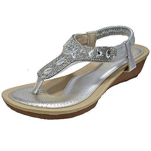 Shoes Dl48 Sandali On Con Slip Basso Uk Piatti Ladies Womens Dolly Tacco Balletto Pumps PqZ4COx