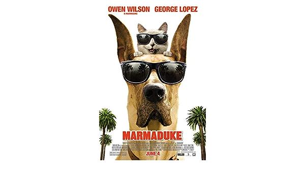 Marmaduke Movie Poster 24 x 36 Inches Full Sized Print Unframed