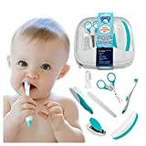 Image of My Happy Tot Baby Grooming Kit - Deluxe Essential Set for Infants, Newborns, Kids, Boys and Girls. Unisex Kit Includes Nail Clipper, Brush, File, Scissors, Comb, Toothbrush & Finger Toothbrush