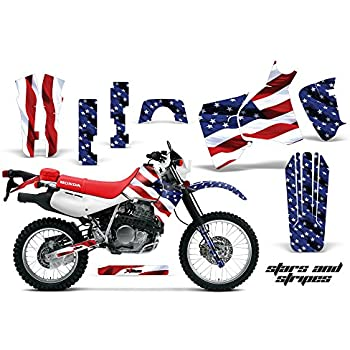 Stars /& Stripes AMR Racing MX Dirt Bike Graphic Kit Sticker Decals Compatible with Honda CRF250X 2004-2016