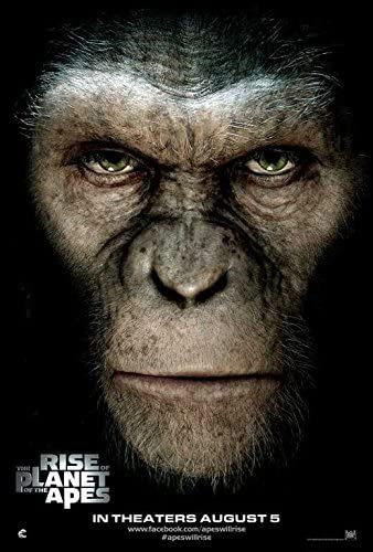 Amazon.com: Movie Posters Rise of The Planet of The Apes - 27 x 40 ...
