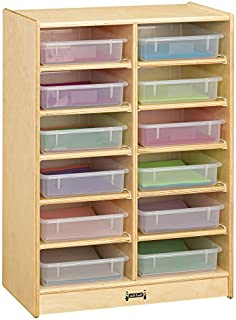 product image for Jonti-Craft 12 Paper-Tray Mobile Storage with Colored Paper-Trays