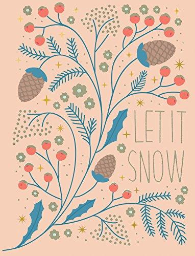 Winter Gardens Embellished Holiday Notecards