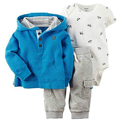 Carters Baby Knit Henley Hoodie