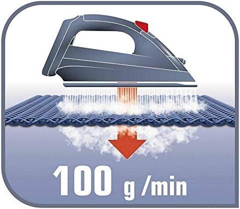 Fonction anti-goutte Tefal Access FV1544 Fer /à repasser /à vapeur Go 2100W 100g // min Steam Shot Glissement optimal avec surpression de vapeur Poids l/éger