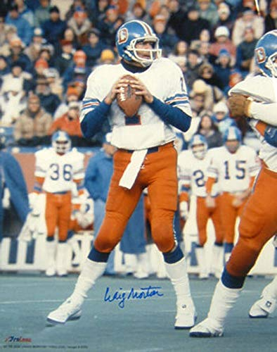 CRAIG MORTON AUTOGRAPHED/SIGNED DENVER BRONCOS 16X20 PHOTO WHITE ()