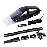 Portable 120W 12V Car Vacuum Cleaner Super Suction Wet and Dry Dual Use Car Washing Tool with 16ft Length Cable for 2006 2015 2017 Version Jeep Renegade Model Black