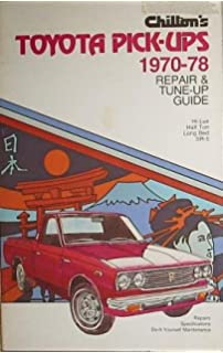 Toyota hilux pick up 1969 78 haynes repair manuals haynes chiltons repair and tune up guide toyota pick ups 1970 1978 fandeluxe Image collections