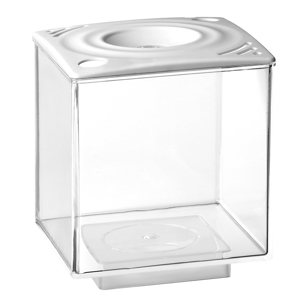 Elive 01032 Betta Cube, 0.75 gallon, White