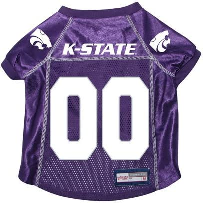 X-Large Littlearth NCAA Kansas State Wildcats Pet Stretch Jersey