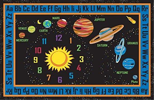 Kid Carpet FE736-34A Outer Space Nylon Area Rug 6' x 8'6 Multicolored [並行輸入品]   B07HLFMYB4