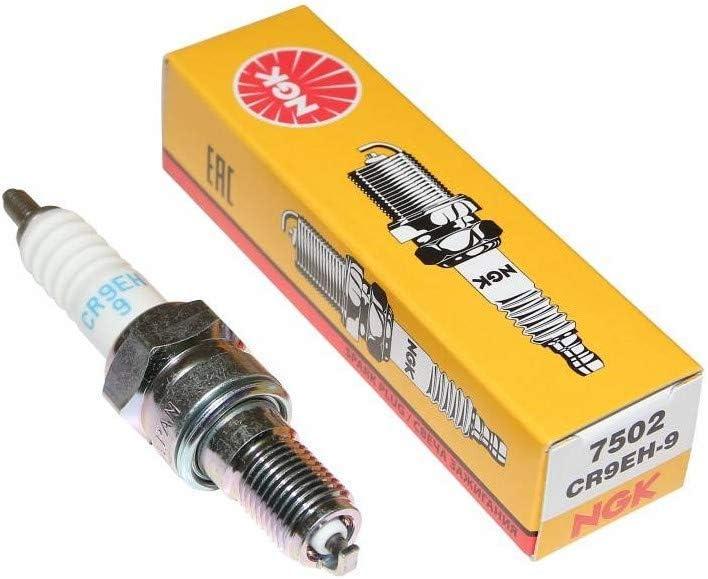 NGK Pack of 1 7502 CR9EH-9 Standard Spark Plug