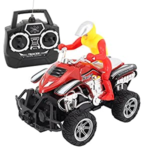 Multifit Toddler RC Offroad Motorcycle Car Kids Remote Control ATV Atuocycle Gift Toy