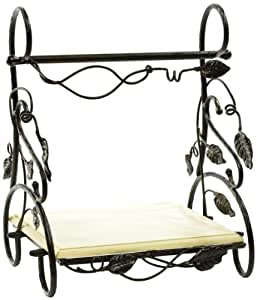Caffco International Biltmore Inspirations Collection Arbor Metal Paper Towel Holder