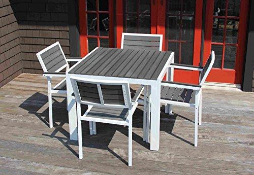 5 Piece Set Outdoor Patio Garden Furniture Dining Table Set