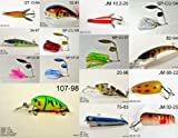 Cheap Akuna [CO] Pros' pick recommendation collection of lures for Bass, Panfish, Trout, Pike and Walleye fishing in Colorado(Bass 15-A)