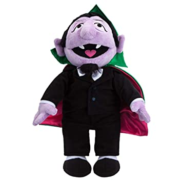 Buy Sesame Street Count Von Count Plush Toy Online At Low