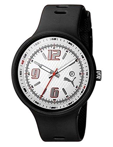 PUMA Men's PU910691002 Slick 3 Hand Date White Dial Watch