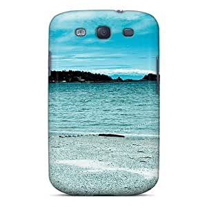 High-end Cases Covers Protector For Galaxy S3(sunday At The Beach)