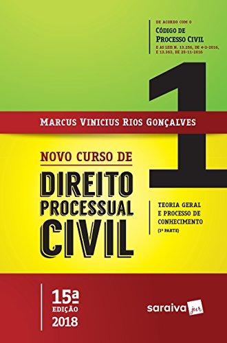 Novo Curso de Direito Processual Civil. Teoria Geral e Processo de Conhecimento - Volume 1