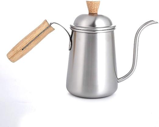 HIUGHJ Cafetera Tetera Goteo Olla Cuello de Cisne 6MM Boquilla con ...