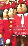 Dix auteurs classiques italiens par Galilée