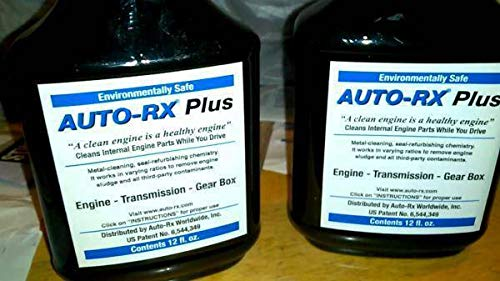 Auto-RX Plus is an All-Natural Metal Cleaner for Transmissions, Engines, Differentials and Power Steering. Designed to Thoroughly Clean The Internal Components. (AutoRx Amazon)