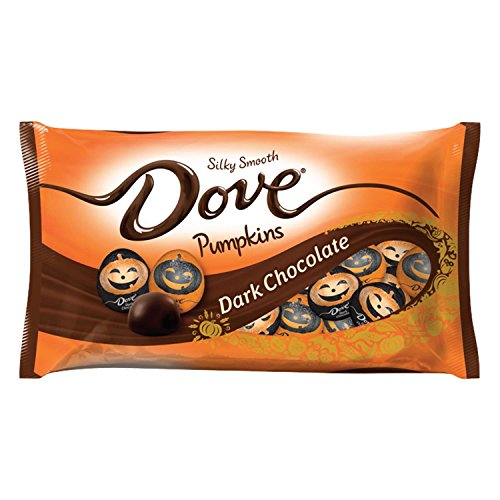 Dove Dark Chocolate Halloween Pumpkin Candy, 8.87 (Halloween Pumpkin Desserts)
