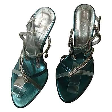 Marco Massetti High Heel Shoe (Size 36) [Blue]