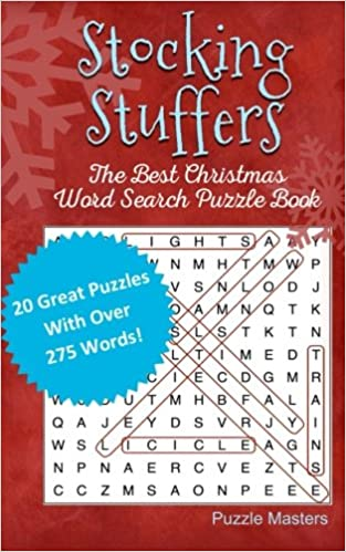Stocking Stuffers: The Best Christmas Word Search Puzzle Book ...