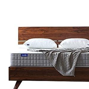 Queen Mattress, Sweetnight 8 Inch Gel Memory Foam Mattress in a Box, CertiPUR-US Certified Foam Mattresses Queen Size for Sleep Cool & Pressure Relief, Hypoallergenic Bed Mattress Cover, Queen