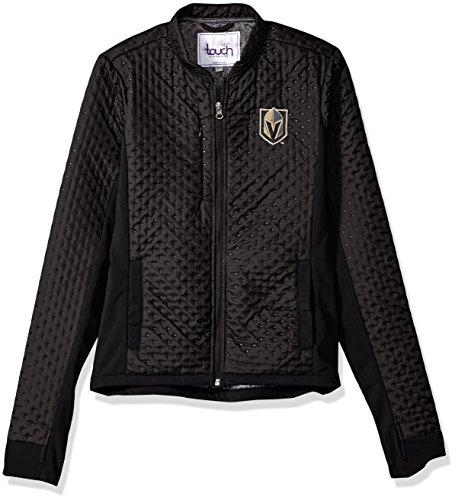 fan products of NHL Vegas Golden Knights Women's Lead Off Jacket, Black, Large