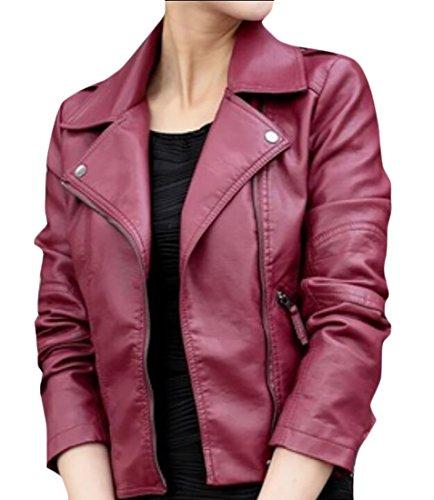 maxi dress and moto jacket - 4