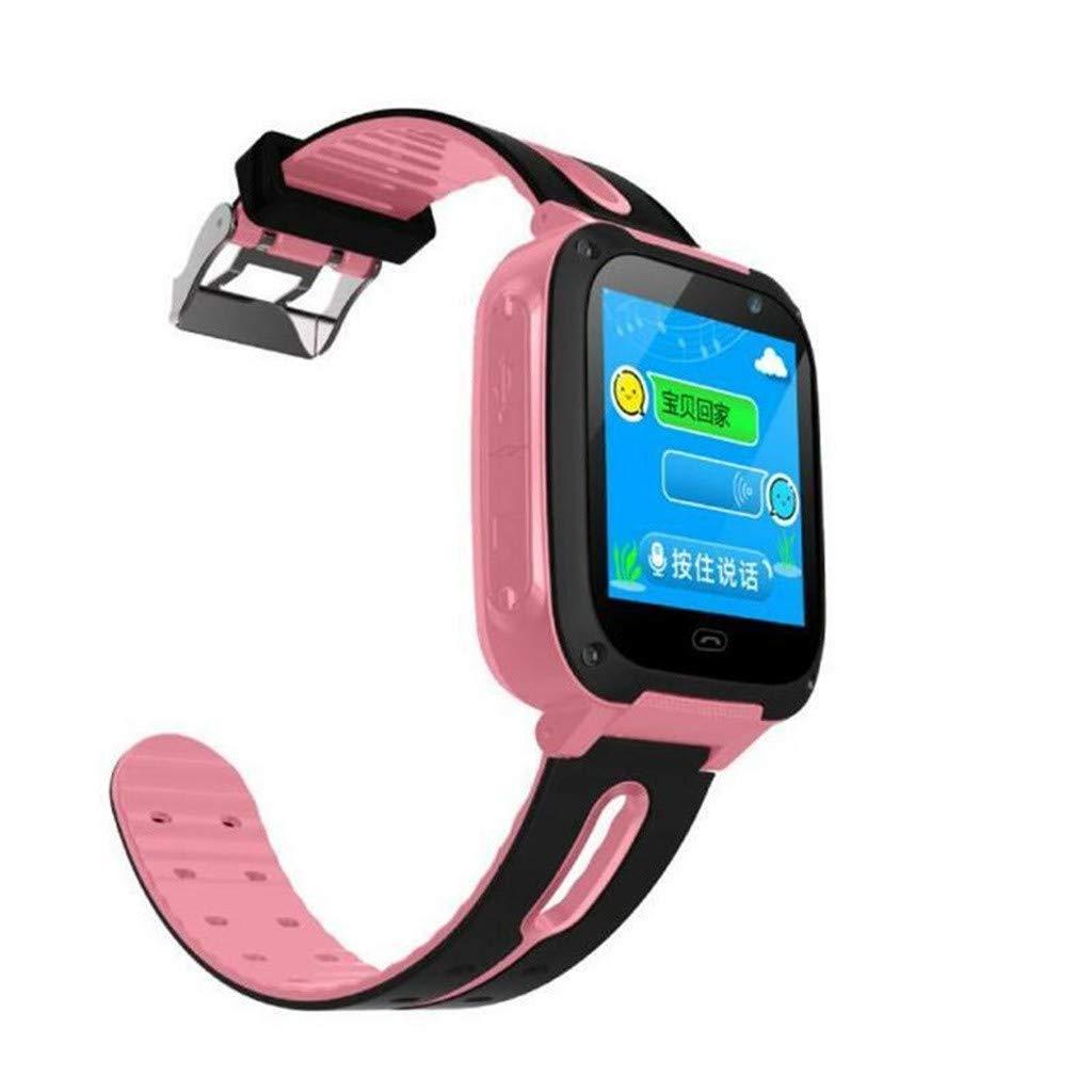 YWLINK EléFono con Reloj Inteligente S4 para NiñOs, LBS/GPS ...
